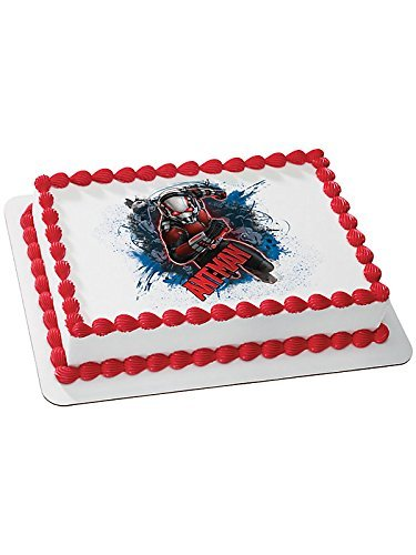 Ant Man Quarter Sheet Edible Cake Topper (Each)]()