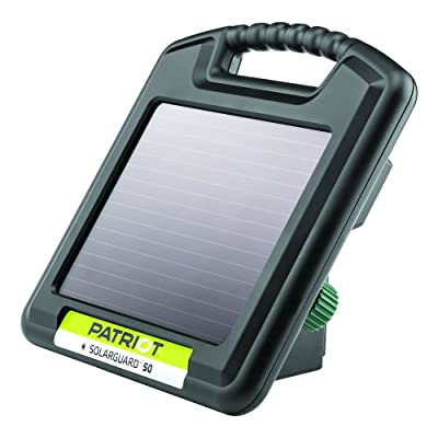 Patriot SolarGuard 50 Fence Energizer, 0.05 Joule