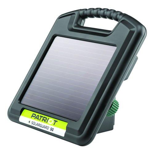 Solar Fence Energizer - Patriot SolarGuard 50 Fence Energizer, 0.05 Joule