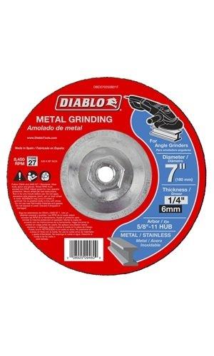 Manufacturers Direct DBD070250B01F 7 In. Metal Dc Grind
