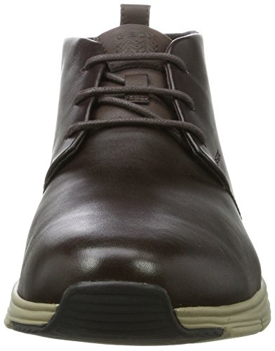 Coffee U Men's Boots Brown Ankle Geox SNAPISH 5XSqxwPP