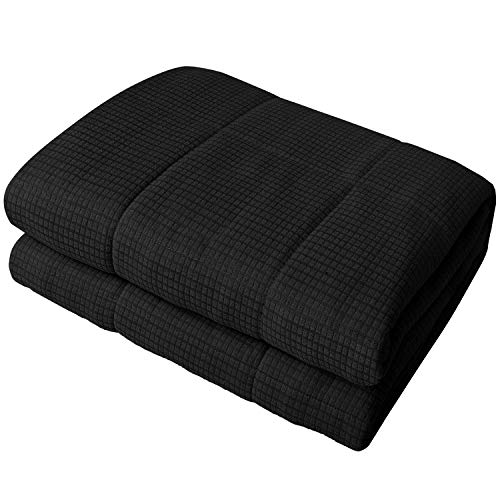 Cheap YEMYHOM Weighted Blanket Adult Jacquard Fabric Bed Heavy Blankets with Glass Beads for Great Sleeping (60