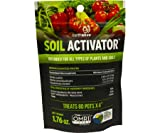 Earth Alive Soil Activator/Soil Inoculant, Biofertilizer, Biostimulant for All Plant Types and soils, 5 pkgs.
