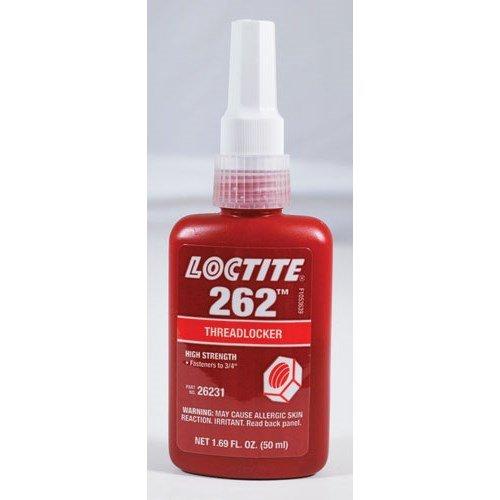 Loctite 26231 Red 262 High-Strength Threadlocker, 1.69 fl. oz. Bottle by Loctite