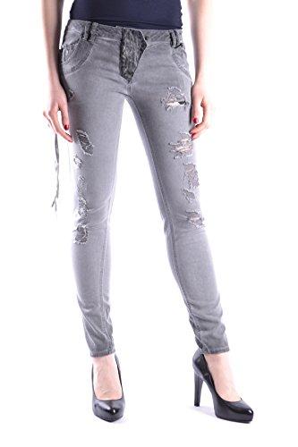 Coton LOST Femme MCBI407003O GET Jeans Gris wBqFxv4