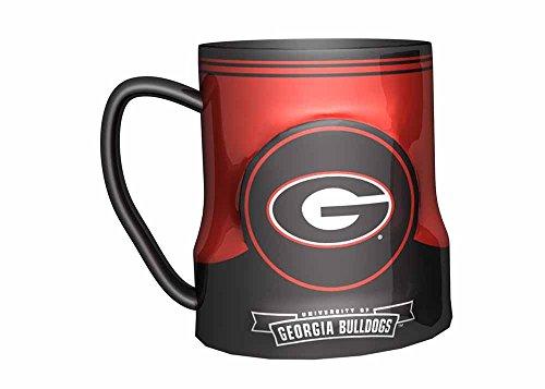 Georgia Bulldogs Coffee Mug - 18oz Game Time by Boelter (Ncaa Georgia Bulldogs Ceramic)