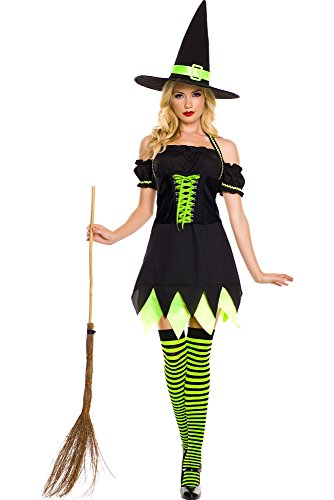 Holly Dark Witch Adult Costume - X-Large -