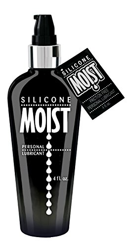 Siam Circus 5 Pack Moist Personal Lube Lubricant NON Irritating Silicone Based 4oz (Moist Lubricant)