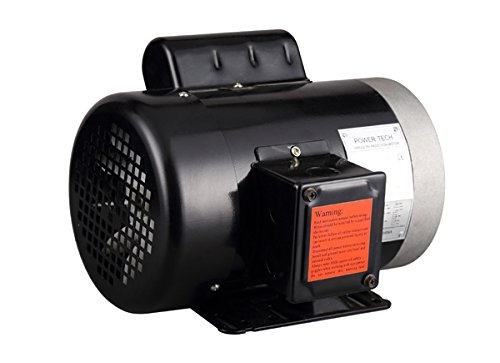 PowerTech 1234C 3/4 hp 5/8'' General Purpose Electric Motor Shaft, Single Phase, 115/230V, 56C Frame, 3450 RPM, TEFC