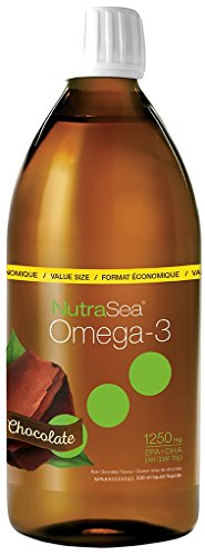 Ascenta NutraSea Omega-3 - 1250mg EPA+DHA - Chocolate