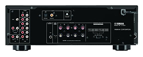 41LsA2EbTqL - Yamaha A-S301BL Natural Sound Integrated Stereo Amplifier (Black)