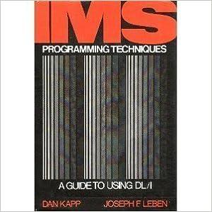 Joseph F. Leben - I. M. S. Programming Techniques: Guide To Using D. L./1