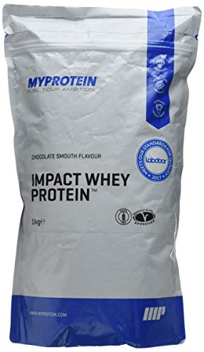 MY PROTEIN 10530997 Impact Whey Protein, 1 kg, Chocolate Smooth