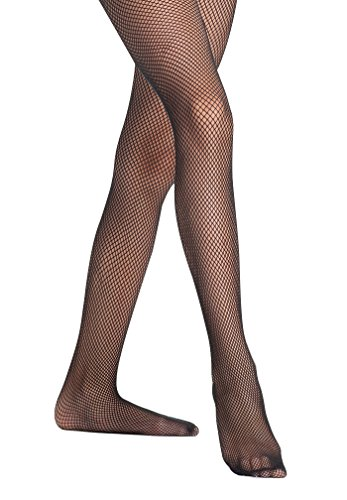 Danskin Children's Seamless Fishnet Tights 710 (S/I, Black) - Danskin Fishnets