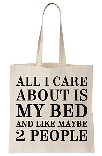 2 Maybe Care Tote I Like Is Bag And People My Canvas About Bed All R8zqx
