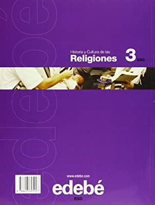 Historia y cultura de las religiones, 3 ESO - 9788423695027: Amazon.es: Edebé, Obra Colectiva: Libros