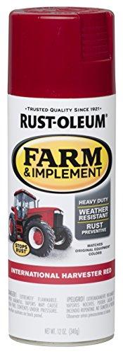 (Rust-Oleum RUSTOLEUM 280127 International Harvester Red 12 oz. Farm & Implement Spray Paint)