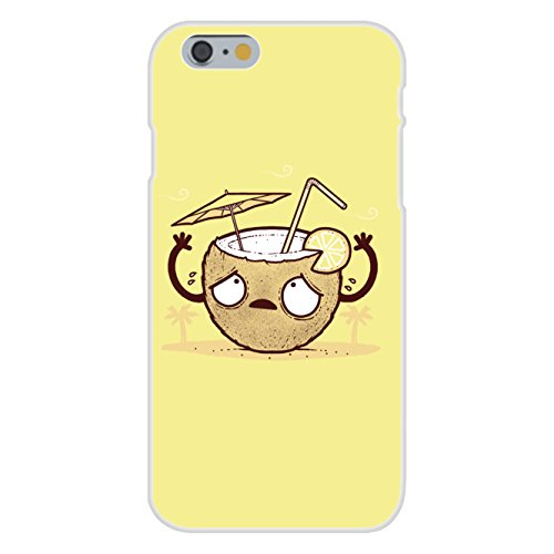 - Apple iPhone 6+ (Plus) Custom Case White Plastic Snap On -