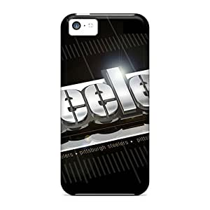 Hot Tpu Cover Case For Iphone/ 5c Case Cover Skin - Pittsburgh Steelers