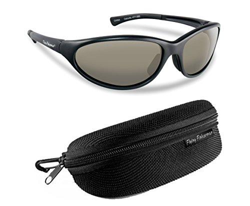Flying Fisherman Calcutta Polarized Sunglasses Bundle Kit, Matte - Sunglasses Ccs