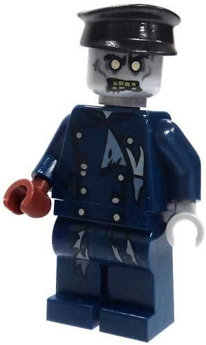 ZOMBIE DRIVER- Lego Monster Fighters- Vampire Hearse Figure