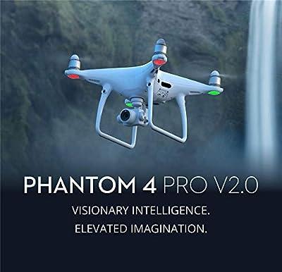 BQT Drone Camera Phantom 4 Pro V2.0 1-inch 20MP Exmor R CMOS Sensor, Longer Flight time and Smarter Features, 4K Full HD Video Aircraft Toys