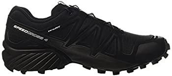 Salomon Men's Speedcross 4 Trail Runner, Black A1u8, 10 M Us 10