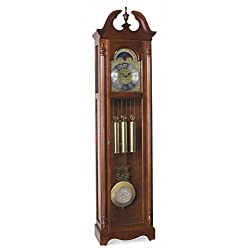 Ridgeway 2504 Lynchburg Grandfather Clock Glen Arbor Cherry