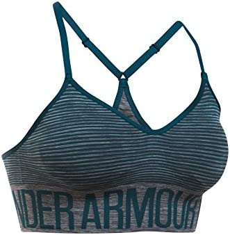 Under Armour Womens Seamless Feeder Stripe Bra Under Armour Apparel 1275567