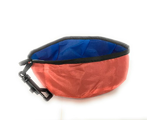 DUKES Travel Pet Bowl Pet Food and Water Bowl for Traveling.