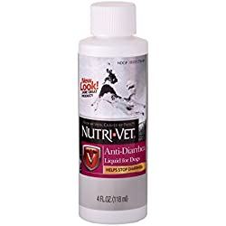 Nutri-Vet Wellness Anti-Diarrhea Liquid for Dogs (4 oz)