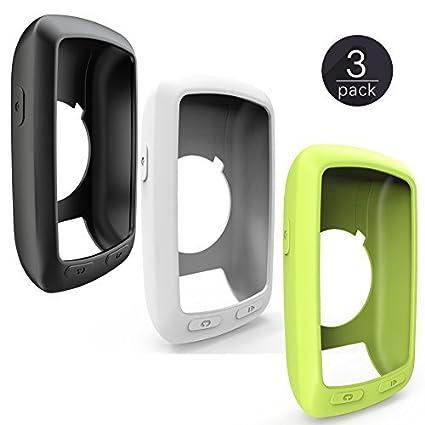 Garmin Edge 800 810 /Approach G6 G7 Housse en Silicone + Protecteur Film , TUSITA® Kit de Protection de Remplacement Accessoires pour Garmin GPS Bike Computer