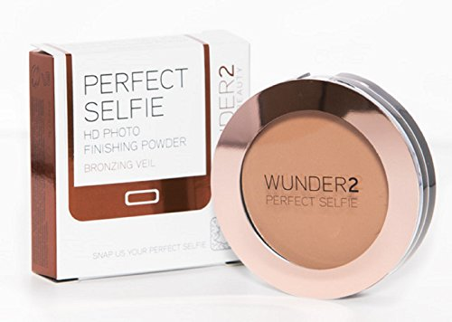 WUNDER2 Perfect Selfie HD Photo Finishing Powder, Bronzing Veil, 0.24 Ounce by WUNDER4