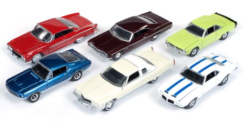 Cadillac Deville Auto Body (Autoworld Muscle Cars Release A Set Of 6 Cars 1/64 by Autoworld AW64002A)
