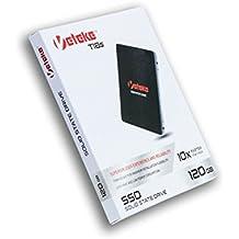 """Veteke T18s - 120GB SSD TLC NAND SATA III 2.5"""" Internal Solid State Drive (SSD) – Excelente velocidade de gravação e leitura de até 500 MB/s/480 MB/s - VTKSSDS3-T120G"""