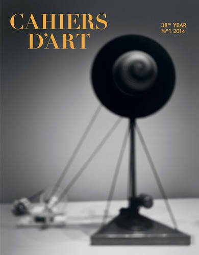 Cahiers d'Art Issue N°1, 2014: Hiroshi Sugimoto: 38th Year - 100th Issue (Revue)