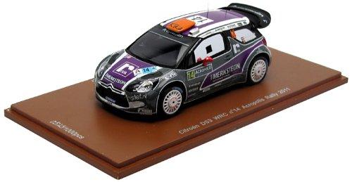1/43 シエトロン DS3 2011年WRCアクロポリスラリー #14 ドライバー:P.Van Merksteijn/E.Chevaillier S33005