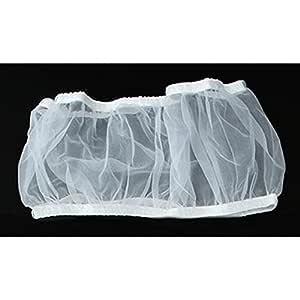 Cubierta de Jaula de p/ájaros de Limpieza Suave y f/ácil Malla de Tela Antipolvo para atrapar Semillas Funda para Jaula de p/ájaros de Nailon Tookie