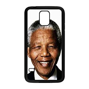 Nelson Mandela Smiling Samsung Galaxy S5 Cell Phone Case Black toy pxf005_5777590