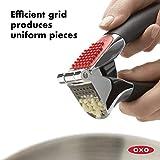 OXO Good Grips Soft-Handled Garlic Press,Black,One