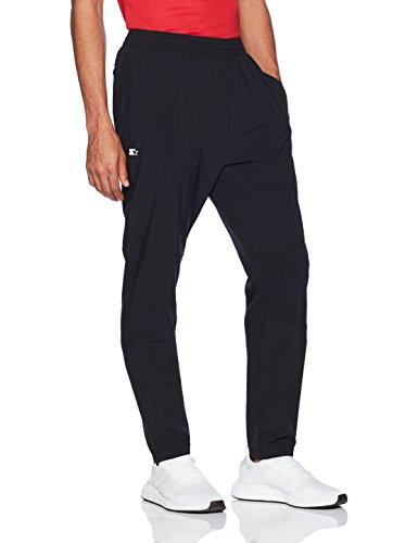 Starter Men's Lightweight Training Pants, Prime Exclusive, Black, (Lightweight Zipper)
