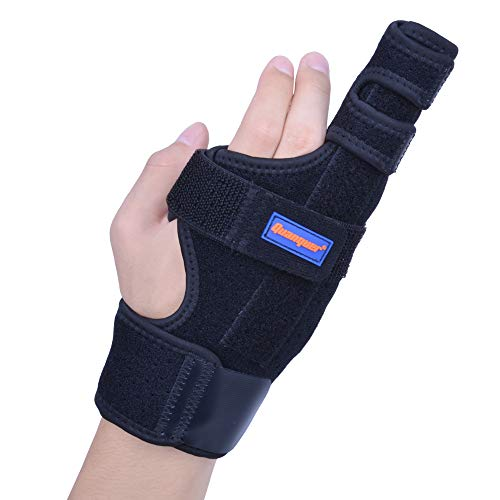 Boxer Splint- Original Metacarpal Splint for Boxer's Fracture, 4th or 5th Finger Break, Post-Operative Care and Pain Relief (S/M)