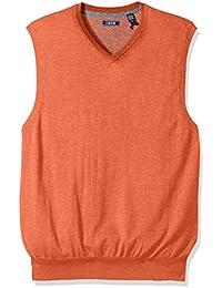 Men's Fine Gauge V-Neck Sweater Vest