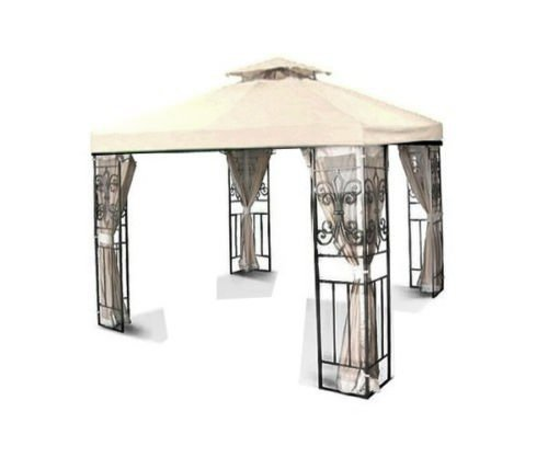 Flexzion 10x10 Gazebo Replacement Canopy