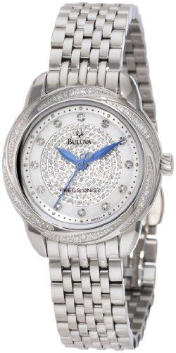 Bulova Women's 96R154 Precisionist Brightwater Swirl pattern Watch