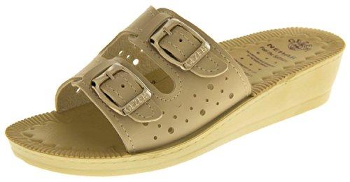 Footwear Studio - Zuecos para mujer Beige - beige
