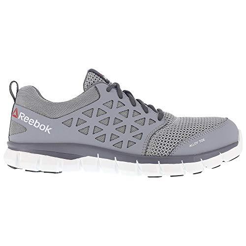 amp; Bajos Para Reebok Cordon Sublite Medios Zapatos Talla Hombres Cushion Work Grey Correr zCXqZC