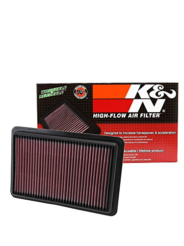 K&N 33-2480 Replacement Air Filter compatible with MAZDA Select Model