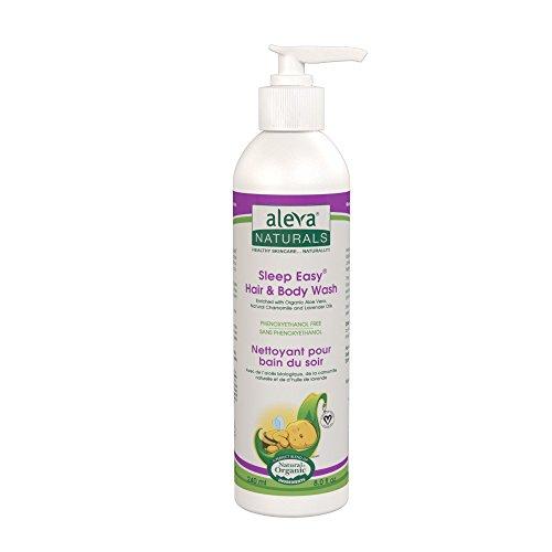 Aleva Naturals Sleep Easy Hair & Body Wash, 8 Fluid Ounce