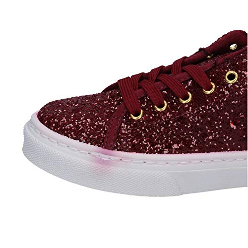 Sneaker Guess Guess Rosso Glitter Donna Donna Glitter Rosso Sneaker anxnW4Bw